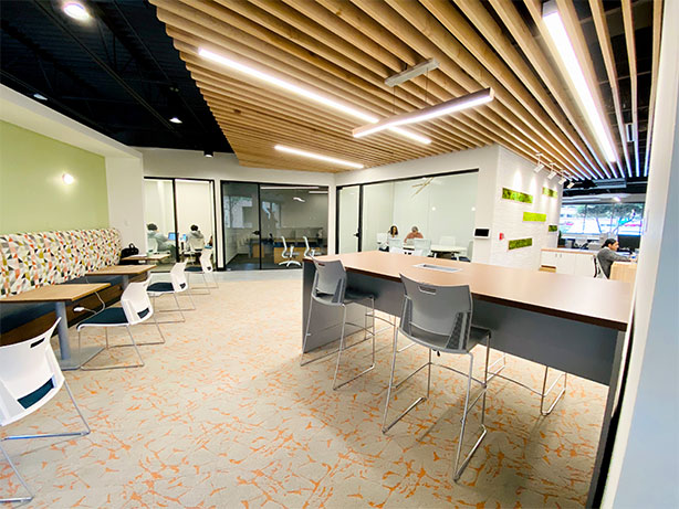 HEXA Coworking Space Richardson TX - Front Desk Area Virtual Office